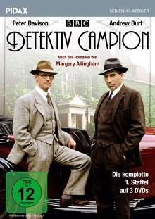 Detektiv Campion Staffel 1, 3 DVDs