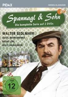 Spannagl & Sohn (Komplette Serie), 2 DVDs