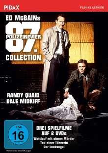 Ed McBains 87. Polizeirevier Collection (Wettlauf mit einem Mörder / Tod einer Tänzerin / Der Lockvogel), 2 DVDs