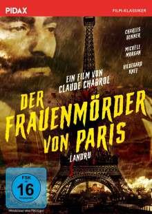 Der Frauenmörder von Paris, DVD
