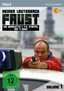 Faust Vol. 1 (Staffel 1 & 2), 4 DVDs