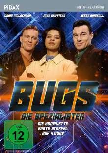 Bugs - Die Spezialisten Staffel 1, 4 DVDs