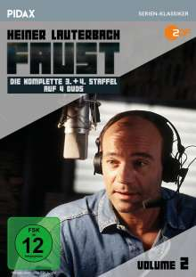 Faust Vol. 2 (Staffel 3 & 4), 4 DVDs