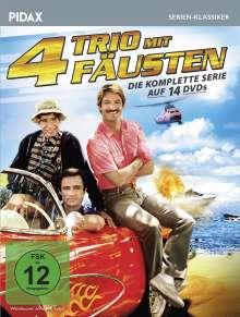 Trio mit 4 Fäusten (Komplette Serie), 14 DVDs