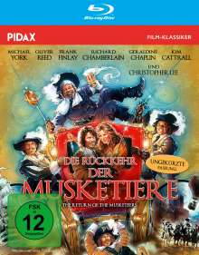 Die Rückkehr der Musketiere (Blu-Ray), Blu-ray Disc