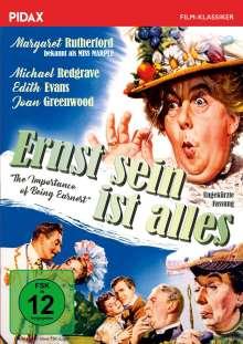 Ernst sein ist alles (1952), DVD