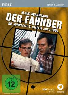 Der Fahnder Staffel 3, 3 DVDs