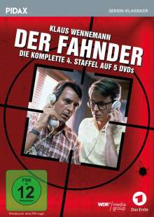 Der Fahnder Staffel 4, 5 DVDs