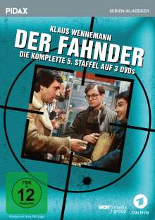 Der Fahnder Staffel 5, 3 DVDs