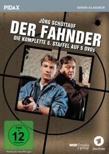 Der Fahnder Staffel 6, 5 DVDs