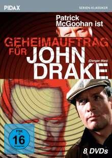 Geheimauftrag für John Drake, 8 DVDs