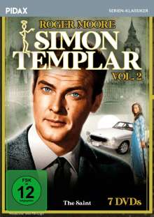 Simon Templar Vol. 2, 7 DVDs