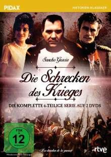 Die Schrecken des Krieges (Komplette Serie), 2 DVDs