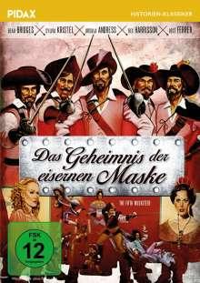 Das Geheimnis der eisernen Maske, DVD