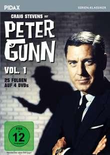 Peter Gunn Vol. 1, 4 DVDs
