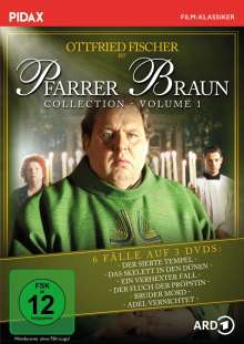 Pfarrer Braun Collection Vol. 1, 3 DVDs