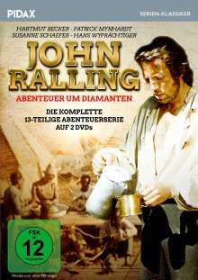 John Ralling - Abenteuer um Diamanten (Komplette Serie), 2 DVDs