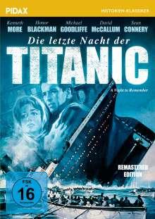 Die letzte Nacht der Titanic, DVD