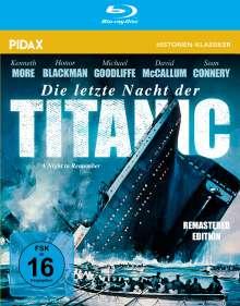 Die letzte Nacht der Titanic (Blu-ray), Blu-ray Disc