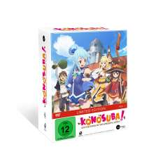 KonoSuba Vol. 1 (Limited Mediabook Edition) (mit Sammelschuber), DVD