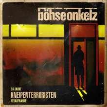 Böhse Onkelz: Kneipenterroristen (30 Jahre Kneipenterroristen - Neuaufnahme 2018), 2 LPs