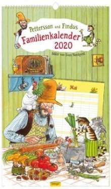 Pettersson und Findus Familienkalender 2020, Diverse