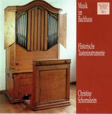 Musik im Bachhaus Vol.1 - Historische Tasteninstrumente, CD