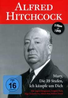 Alfred Hitchcock (3 Filme auf 1 DVD), DVD