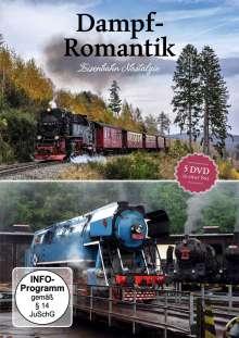 Dampf Romantik - Eisenbahn Nostalgie, 5 DVDs