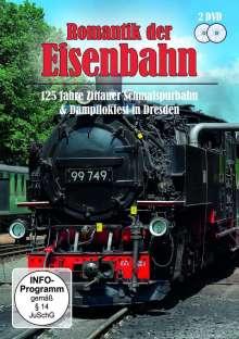 125 Jahre Zittauer Schmalspurbahn & Dampflokfest in Dresden, 2 DVDs