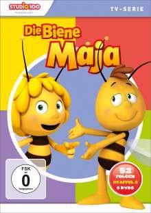 Die Biene Maja (CGI) (Komplettbox Staffel 2), 8 DVDs