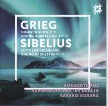 Edvard Grieg (1843-1907): Aus Holbergs Zeit-Suite op.40, Super Audio CD