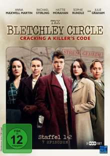 The Bletchley Circle Staffel 1 & 2, 3 DVDs