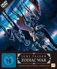 Juni Taisen - Zodiac War (Gesamtedition), 3 DVDs