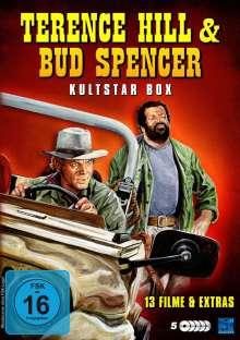 Terence Hill & Bud Spencer - Die Kultstar Box (13 Filme auf 5 DVDs), 5 DVDs