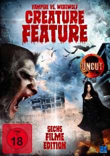 Vampire vs. Werewolf - Creature Feature (6 Filme auf 2 DVDs), 2 DVDs