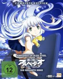 Arpeggio of Blue Steel: Ars Nova (Komplette Serie) (Blu-ray), 3 Blu-ray Discs
