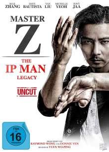 Master Z - The Ip Man Legacy, DVD