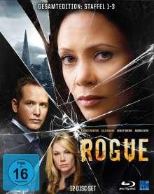 Rogue Staffel 1-3 (Blu-ray), 12 Blu-ray Discs