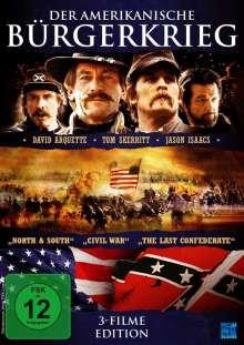 Der amerikanische Bürgerkrieg (3 Filme Edition), DVD