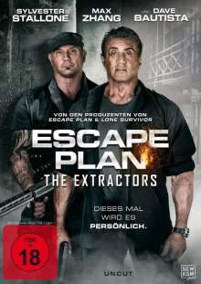Escape Plan 3: The Extractors, DVD