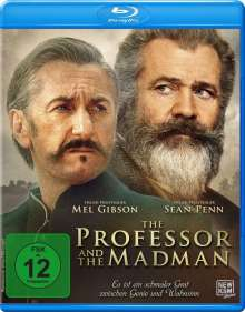 The Professor and the Madman (Blu-ray), DVD