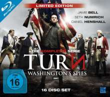 Turn - Washington's Spies (Limited Edition) (Komplette Serie) (Blu-ray), 16 Blu-ray Discs