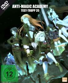 Anti Magic Academy - Test-Trupp 35 (Gesamtedition), 3 DVDs