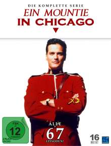Ein Mountie in Chicago (Komplette Serie), 17 DVDs