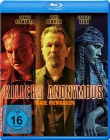 Killers Anonymous (Blu-ray), Blu-ray Disc