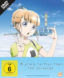 A place further than the Universe Vol. 3, DVD