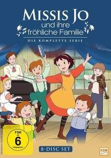 Missis Jo und ihre fröhliche Familie (Komplette Serie), 8 DVDs