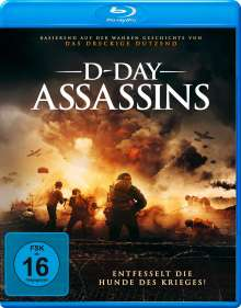 D-Day Assassins (Blu-ray), Blu-ray Disc