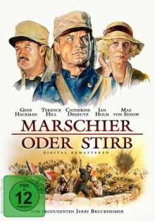 Marschier oder stirb, DVD